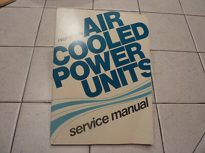 1974 Air Cooled Power Units Service Manual 1st Edition Onan Clinton Wisconsin +