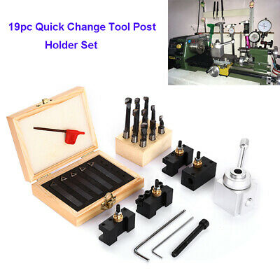 "10pcs 3//8 boring bar+3//8/"" 5Pcs Indexable Mini Quick change tool post holder set"