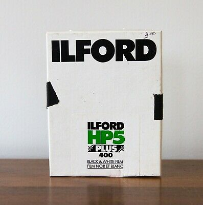 "Ilford HP5 Plus ISO 400 4x5"" - 25 Sheets - Sealed Bag - Unknown Expiration Date"