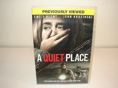 QUIET PLACE (DVD, 2018) *Used* Very Good!!!