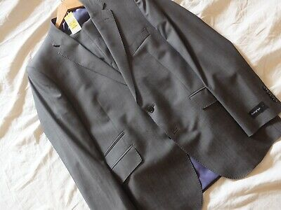 Marks and Spencer Autograph Tailored Fit Grey Suit.  44 C. 36 W. 33 IL. BNWT