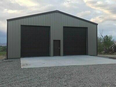 40x60x15 Steel Building SIMPSON Metal Kit Garage Workshop Prefab Structure