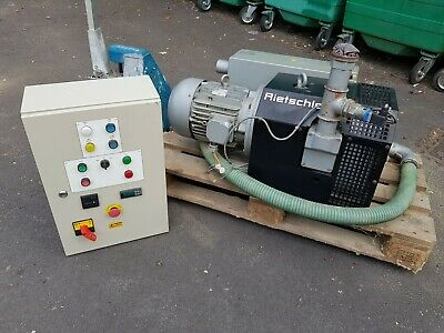 Rietschle CNC vacuum pump - D-79650 / 400v moter 5.5kw with custom contol panel