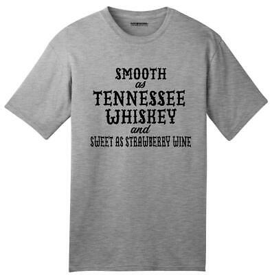 USA Made Smooth As Tennessee Whiskey American T-Shirt Alcohol Country Redneck