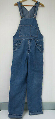 Vintage dungarees denim rave Manchester late 80s 90s Go Vicinty unisex S M rare