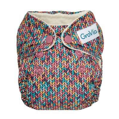 Grovia AIO Newborn Cloth Diaper Fable NWT
