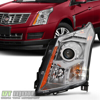 NEW [Left, Driver Side] For 2010-2016 Cadillac SRX Halogen Headlight Replacement