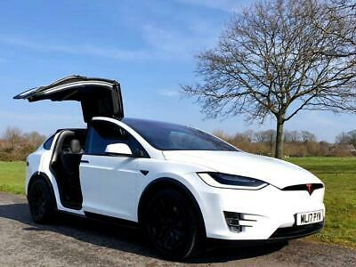 2017 Tesla Model X 75D SUV 5dr Electric Auto 4WD 328 bhp SUV Electric Automati