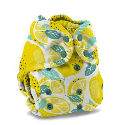 Buttons Super Cloth Diaper Cover NWT Limon