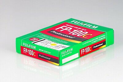 Fujifilm FP-100C Iso 100 Expired 05 2013 New Old Stock 1 Pack 10 Prints FP100