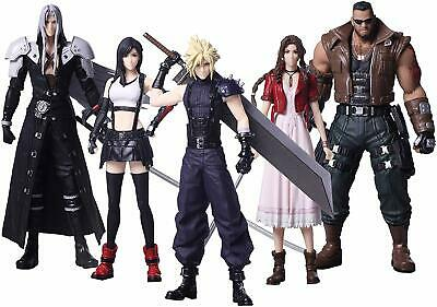 Square Enix FINAL FANTASY VII REMAKE Trading Arts 5 type set JAPAN OFFICIAL