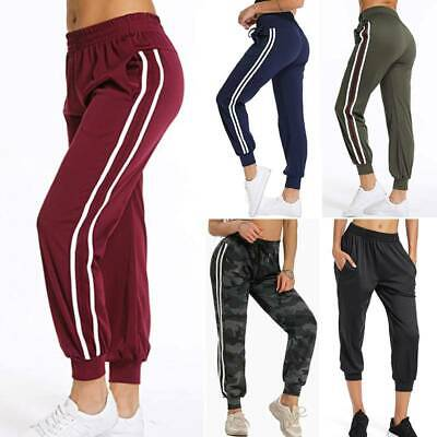 Womens Summer Casual Sweatpants Jogger Baggy Loose Harem Pants Slacks Trousers Y