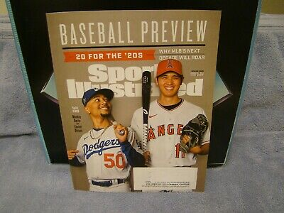 Sports Illustrated• Baseball Preview• Spring 2020• NEW• Next Decade will Roar•