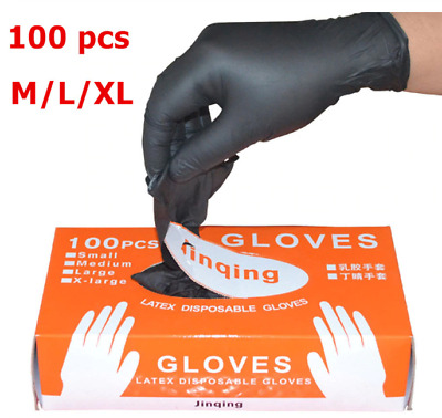 100 Disposable Nitrile Gloves Powder Free Latex Free Single Use