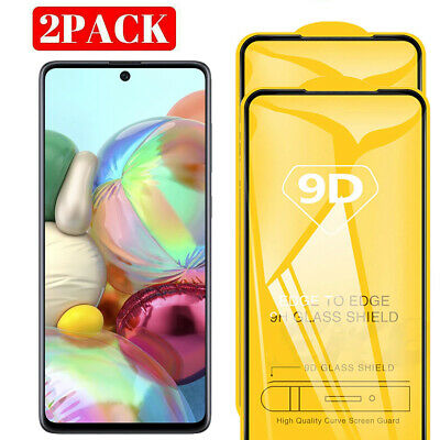 For Samsung A71 Full Cover Tempered Glass Screen Protector For Galaxy A71
