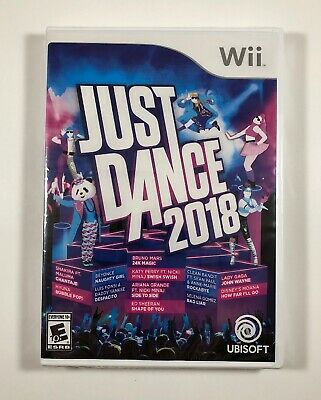 Just Dance 2018 (Nintendo Wii) - NEW - Fast Free Shipping