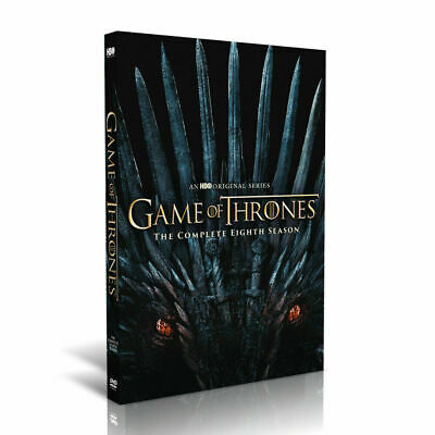 Game of Thrones: Complete Season 8 DVD -Brand New