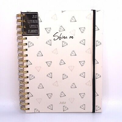 """Deco Los Angeles Shine On Diamonds 2020 12-Month Weekly Planner 7"""" x 9"""""""