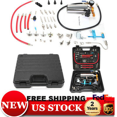Non-dismantle Cleaner GX100 Auto Fuel Injector Tester & Cleaner Washing Tool USA