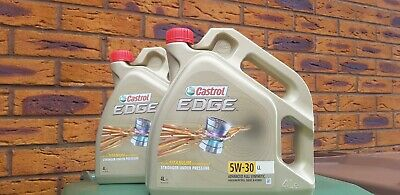 Castrol EDGE Titanium 5W-30 LL Fully Synthetic Longlife Engine Oil 4 Litres 4L