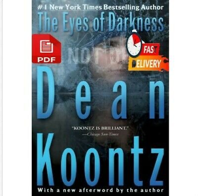 🔥The Eyes Of Darkness 🔥By Dean Koontz 1981🔥[P D F]🔥📥🔥FastShipping🔥