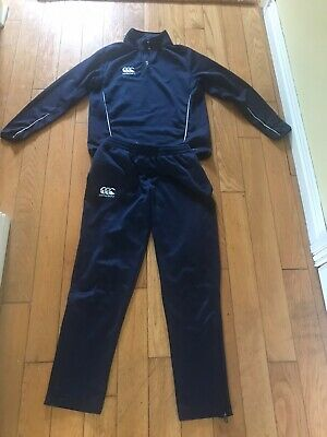 Boys / Girls Canterbury Track Suit Age 12 Years
