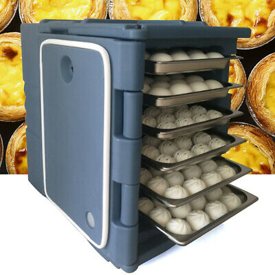 Insulated Catering Hot Cold Chafing Dish Food Pan Carrier Box Commercial Fast