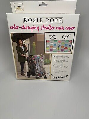 ROSIE POPE Baby Stroller Rain Cover - Waterproof & Weather Shield for Strolle...