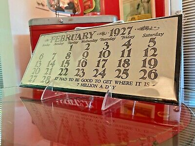 Coca Cola 1927 February Page Girl With Flowers Calendar From Allan Petretti