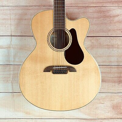 Alvarez AJ80CE-12 12-String Jumbo Acoustic-Electric Guitar Natural