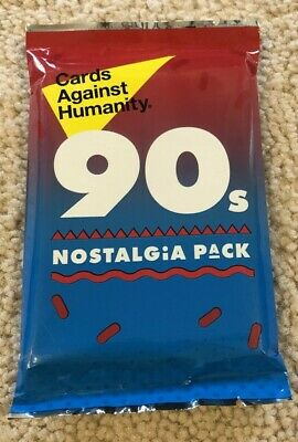 CARDS AGAINST HUMANITY 90's Nostalgia Pack Expansion (30 Cards) NEW & SEALED