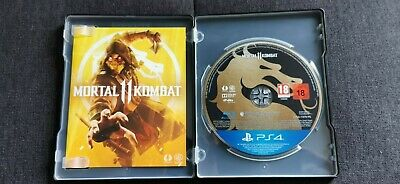 PS4 PlayStation 4 Mortal Kombat 11 Steelbook Sammler Premium