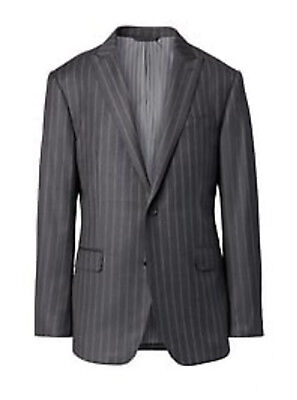 Banana Republic Modern Pinstripe Suit Pants + Jacket 35/30 42L