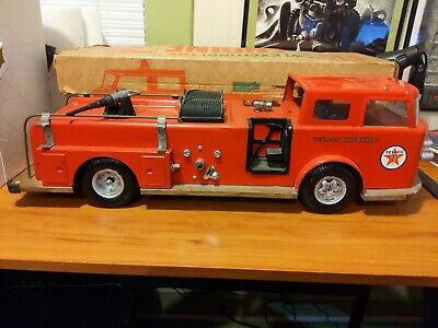 Buddy L Texaco Fire Chief Truck With Box