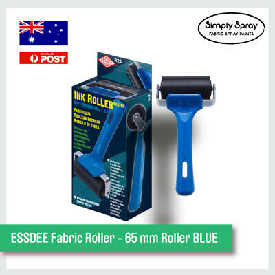 NEW ESSDEE Fabric Roller - 65 mm Roller BLUE. Stamps Fun Project Kit -FREE POST