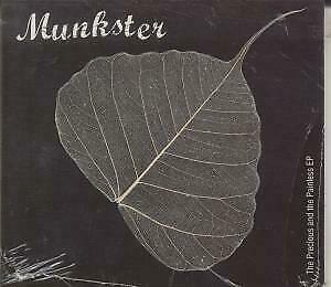 MUNKSTER Precious And The Painless EP CD UK Toast 2004 4 Track Digipack