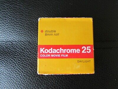 KODACHROME 25 Colour Film DAYLIGHT double 8mm roll DAYLIGHT expired 5 / 1980