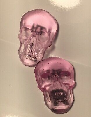 Pink X-ray Markers. 1 Custom 3D Skull X-ray Markers and 1 Set Reusable tape
