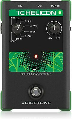 TC Electronic Live Vocals with Realistic Emulations Effect Processor VOICETONED1