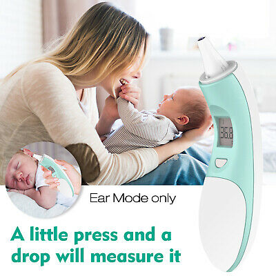 Digital LCD Ear Infrared IR Thermometer Temperature Measurement Baby Adult H4A5