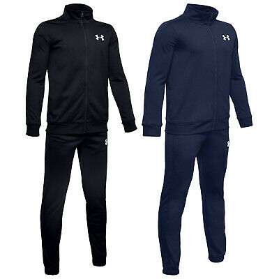 2020 Under Armour Junior Boys Knit Track Suit UA Kids Run Training Jacket Pants