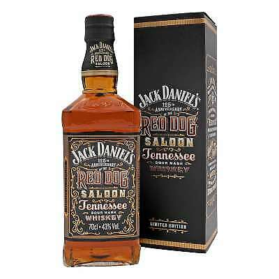 Jack Daniels Red Dog Saloon limited Edition Whiskey   43% Vol./ 0,7 Liter