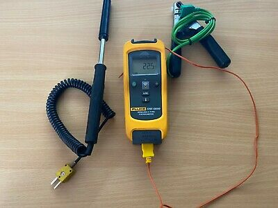 Fluke CNX T3000 wireless K type Thermometer Readout in °C,°F,  with 3 probes