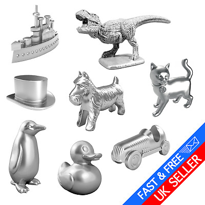 Classic & Original Monopoly NEW Token Line Up Pieces - Brand New - Pick a Piece