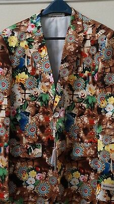 Flowery Sports Coat For Summer