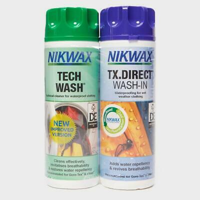 New Nikwax Tech Wash and TX Direct Twin Pack