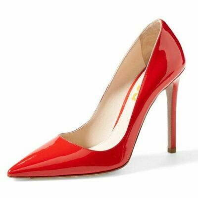 Nine West Womens Tatiana Pointed Toe Classic Pumps Red Size US 8 MSRP $79