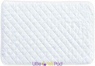 """Little One's Pad Pack N Play Crib Mattress Cover - 27"""" X 39"""" - Fits Most Baby Po"""