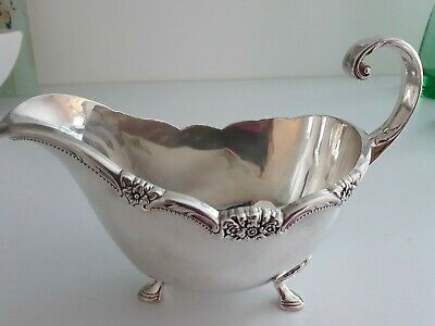 "Gravy Boat Rogers Bros. 1847 ""Remembrance"" Collection FREE SHIPPING"