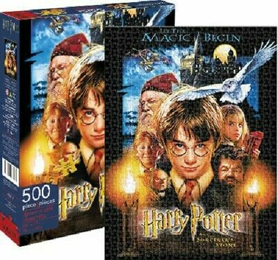 Harry Potter and the Sorcerers Stone 500piece Jigsaw Puzzle
